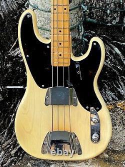 1955 Fender Precision Bass 1 of the rarest & finest all original examples