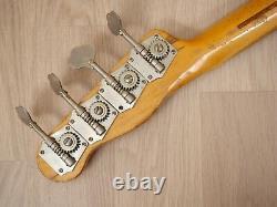 1956 Fender Precision Bass Vintage Electric Bass Guitar Sunburst with Case
