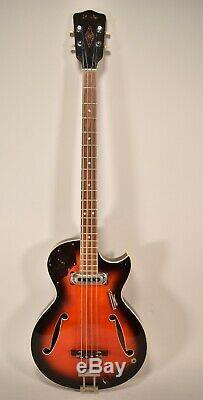 1960's Framus 5/149 Star Bass Sunburst Vintage Electric Guitar