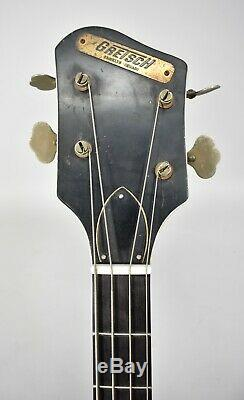 1963 Gretsch 6070 Country Gentleman Vintage Hollowbody Bass Guitar
