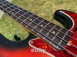 1965 Fender Jazz Bass L Series Vintage All Original 8.8 lbs
