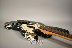 1966 Fender Jazz Bass Charcoal Frost Original Vintage Electric Guitar withOHSC