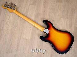 1966 Fender Precision Bass Vintage 100% Original Sunburst with Case, Hangtag