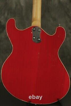 1967 Mosrite COMBO BASS semi-hollowbody RED
