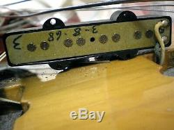 1968 Fender Jazz Bass Vintage all original Electric Bass Guitar mit orig Koffer