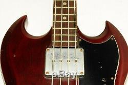1970s Greco Japan Gneco Logo SG Bass Guitar Electric Bass Ref. No 3258