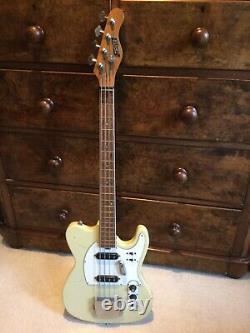 1970s Short-Scale Vintage Japanese Zenta Telecaster Bass electric guitar MIJ
