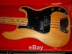 1976 fender Standard Precision Electric Bass Guitar