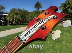 1980 Rickenbacker 4003 Bass Lefty Left Handed Fireglo 4001