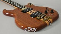 1984 Alembic Distillate Natural Finish Vintage Electric Bass Guitar withGig Bag