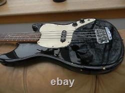1997 Squier by Fender Musicmaster Vista Series Bass Guitar