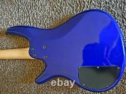 2000 Ibanez SR400 SDGR Soundgear 4-String Purple Electric Bass Guitar Korea Used