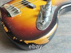 2007 Edwards (by ESP) Jaco Pastorius Fretless Jazz Bass Guitar (Made in Japan)