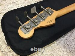 2016 Fender Road Worn Signature Flea Jazz Bass. Shell Pink. Rosewood Fretboard