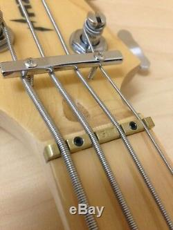 4-String Electric Bass Guitar withPre-Amp, Light Blue+Free Gig BagHybrid-4PJ Haze