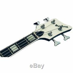 Airline Guitars MAP Bass Black 30 1/2 Short Scale Electric Bass Guitar NEW