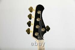 Allen Eden Disciple 5 Standard Black with Matching Headstock