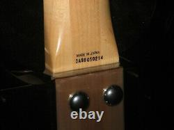 Ampeg Dan Armstrong Bass Guitar 1998 MIJ Reissue, 2 Pickups, Case, Tool, Brochure