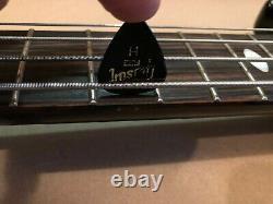 Aria Pro II SB1000CB Cliff Burton Metallica Electric Bass Guitar