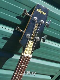 Aria Pro II SB-400 Matsumoku 1982 Electric Bass Guitar Made in Japan SUPER RARE