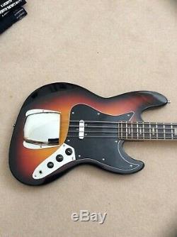 Avon Rose Morris Vintage 1970s JB type Bass Guitar