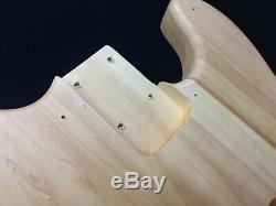 B-303DIY Complete NO-SOLDER DIY Kit-4/4 Size 4-String Electric Bass Guitar