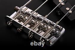 B-STOCK Kingdom Empire Black Electric Bass Guitar (Minor Cosmetics) RRP £550
