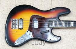 Carvin 4 strings bass Sunburst color guitar