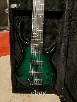 Carvin ICON 6 String Fretless Bass 2010 Model Year MADE IN USA Very Good Cond