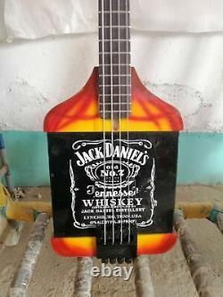 Custom Michael Anthony Van Helen Chickenfoot JackDaniels Whiskey Electric Bass