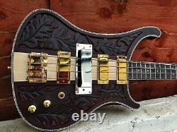 Custom Neck Through Lemmy 4 string bass guitar