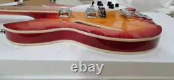 Custom Ricken-back Cherry Sunburst 12-string bass electric guitar Chinese