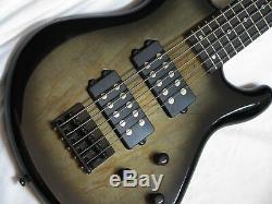 DEAN Edge 2 5-string electric BASS guitar NEW Charcoal Burst B-stock