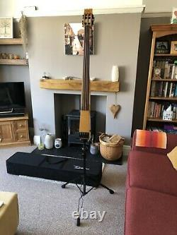 Dean Pace Bass Electric Upright Bass EUB With Fishman Bridge And Powerchip