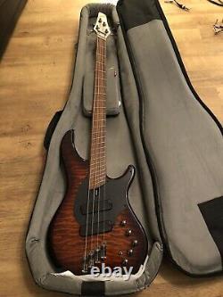 Dingwall Combustion 4 String Bass, Swamp Ash Vintage Burst. Absolute BARGAIN