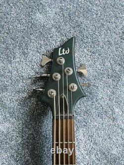 ESP LTD B-105 5 String Bass Guitar