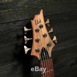 ESP LTD B-206SM 6-String Spalted Maple Electric Bass Guitar