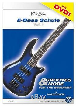 Electric Bass Guitar Black Jazz JB-Style Pack Amp Combo Strap Bag Stand Tuner