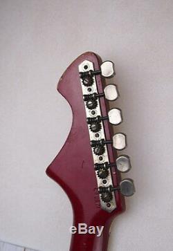 Electric guitar bass semi-acoustic guitar JOLANA 6 string Czech Republic