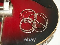 Electric guitar bass semi-acoustic guitar JOLANA SPECIAL 6 string Czech Republic
