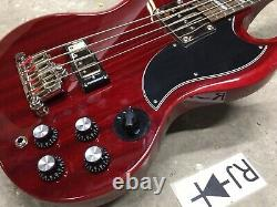 Epiphone EB-3 SG Electric Bass Guitar Cherry Repaired