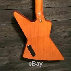 Epiphone Limited Edition Korina Explorer 4 String Electric Bass Guitar