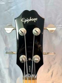 Epiphone RIPPER Black LTD Edition Reissue Electric Bass Guitar S/N 1105200073