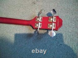 Epiphone SG EB-0 Bass Guitar. Perfect Condition, As New, Cherry Red
