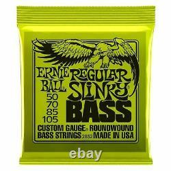 Ernie Ball Regular Slinky Electric Bass Guitar Strings Gauge 50-105 PO2832