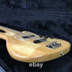 FERNANDES JB-55 1992 Electric Bass Guitar with hard case Shipped from Japan