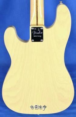 Fender'51 Telecaster Electric Bass Guitar Blackguard Blonde Parallel Universe