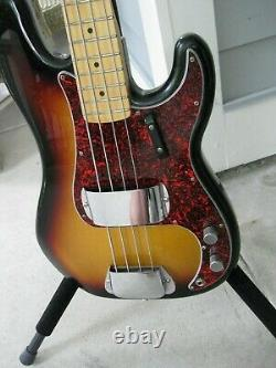 Fender 60th Anniversary Precision Bass. MIM. Sunburst 2011