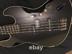 Fender Aerodyne Jazz Bass in Black Japanese Import
