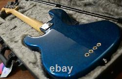 Fender American Professional Precision Bass, Replaced Turquoise Flake Body 8.5lb